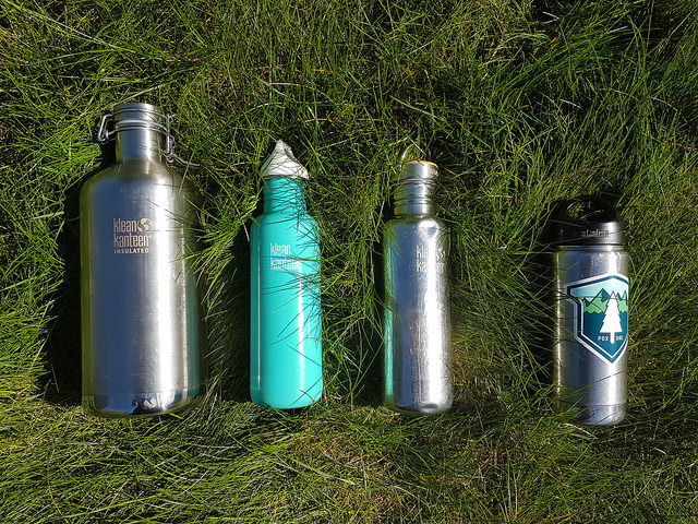 Save money and stay pretty with a resusable water bottle!