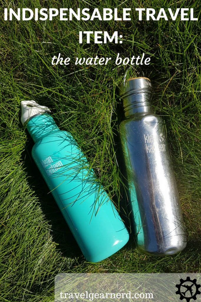 Save money and stay pretty with a reusable water bottle!