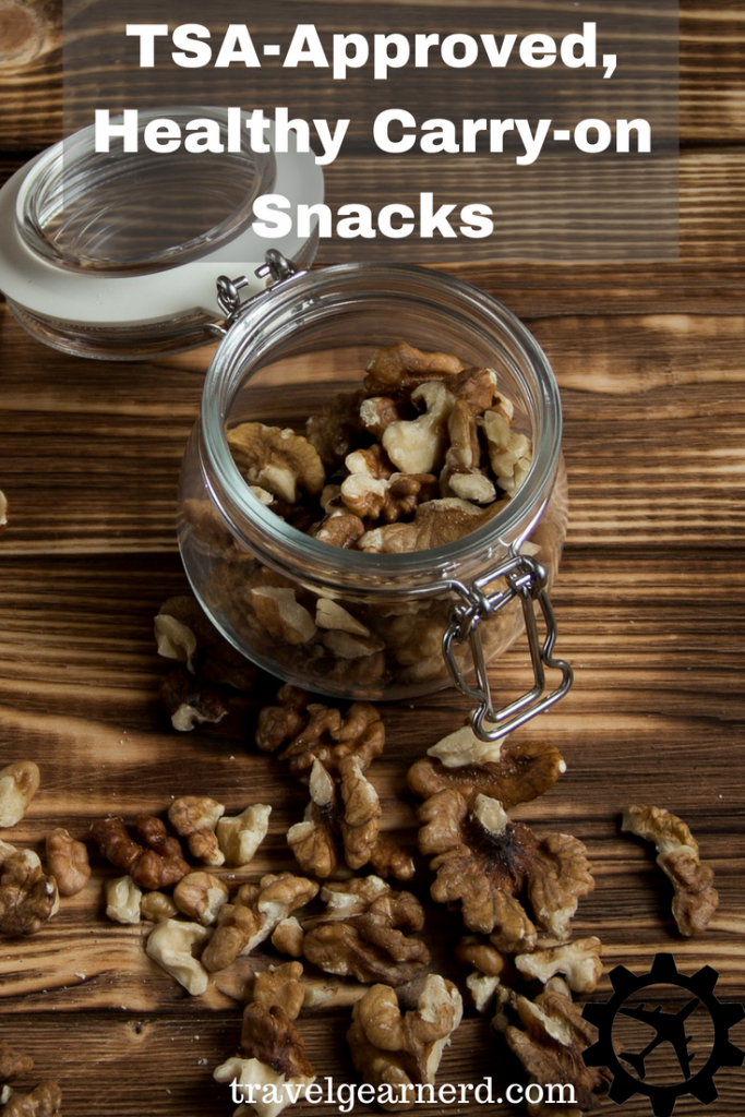 Want to save money and preserve your health on the plane? Here are some healthy, TSA-approved snacks!