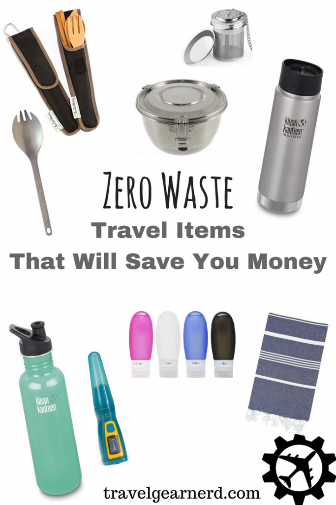 Going zero waste while traveling helps your pocketbook and the planet!