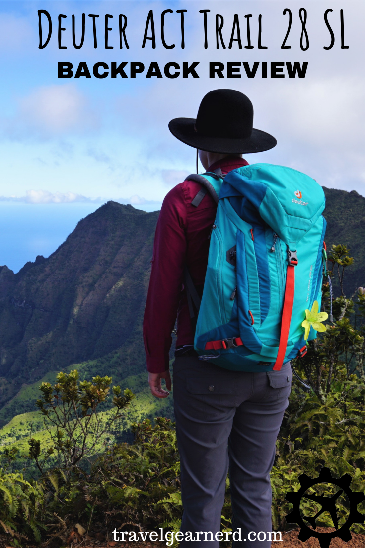 A super awesome choice for an all-around travel and hiking backpack!
